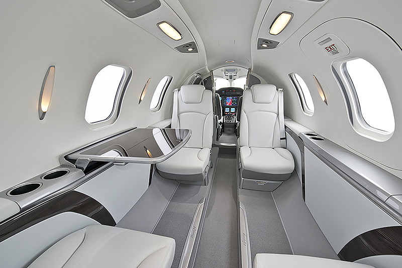 HondaJet APMG SN109 Interior Forward