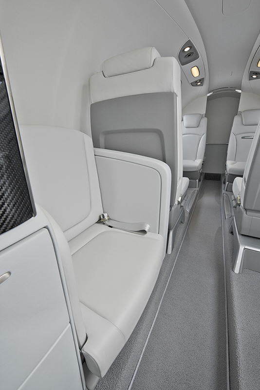 HondaJet APMG SN109 Side Facing Belted Seat
